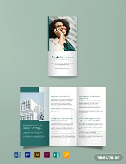 free corporate real estate brochure template