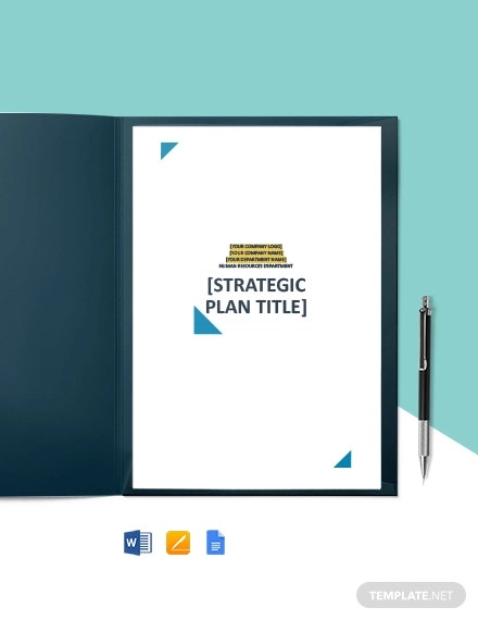 free sample hr strategy plan template1