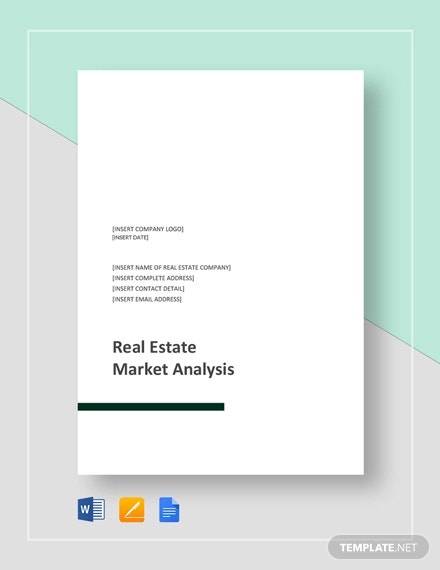 Real Estate Market Analysis Template from images.template.net