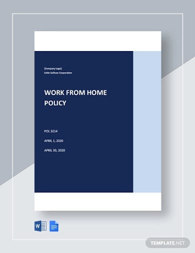 work from home policy template1
