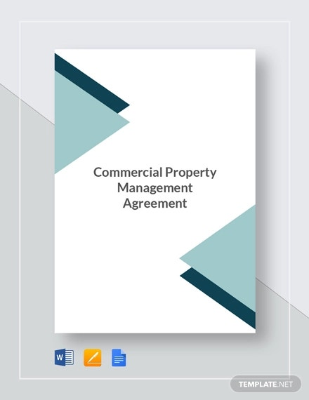 commercial property management agreement template1