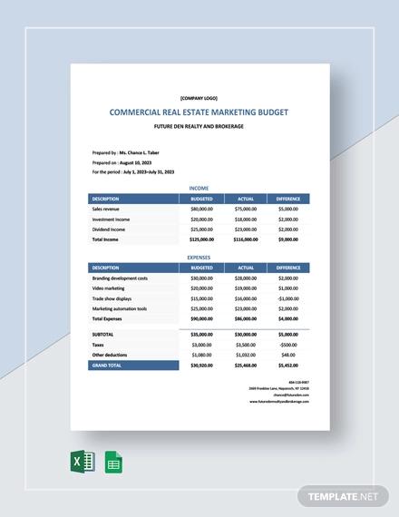 Real Estate Marketing Template - 12+ Free PDF, PSD ...