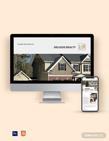 free basic real estate newsletter template