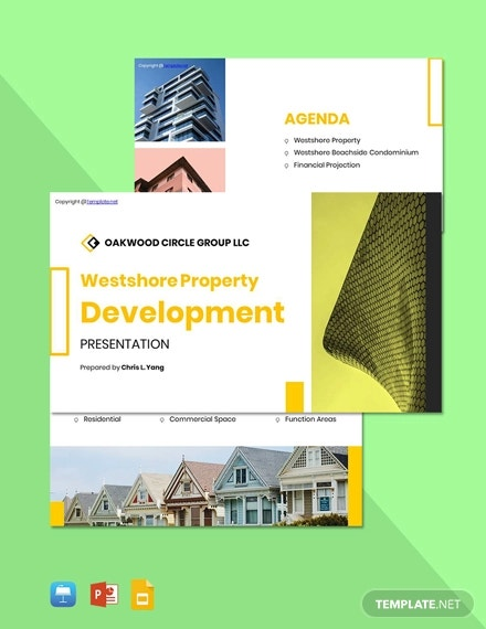 free creative real estate presentation template