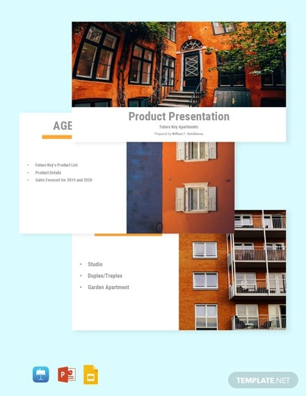 free sample real estate presentation template