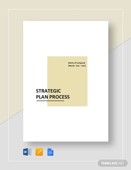 strategic plan process template