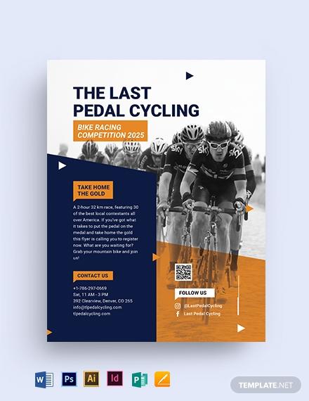 bike-race-flyer