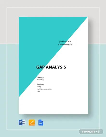 blank gap analysis template1