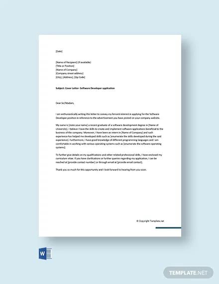 free cover letter for software developer for fresher1