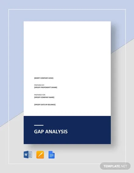 gap analysis template1