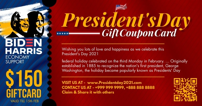 presidents day gift card 2021 template design d1261273e3e5b0e2970f89881dc88a16