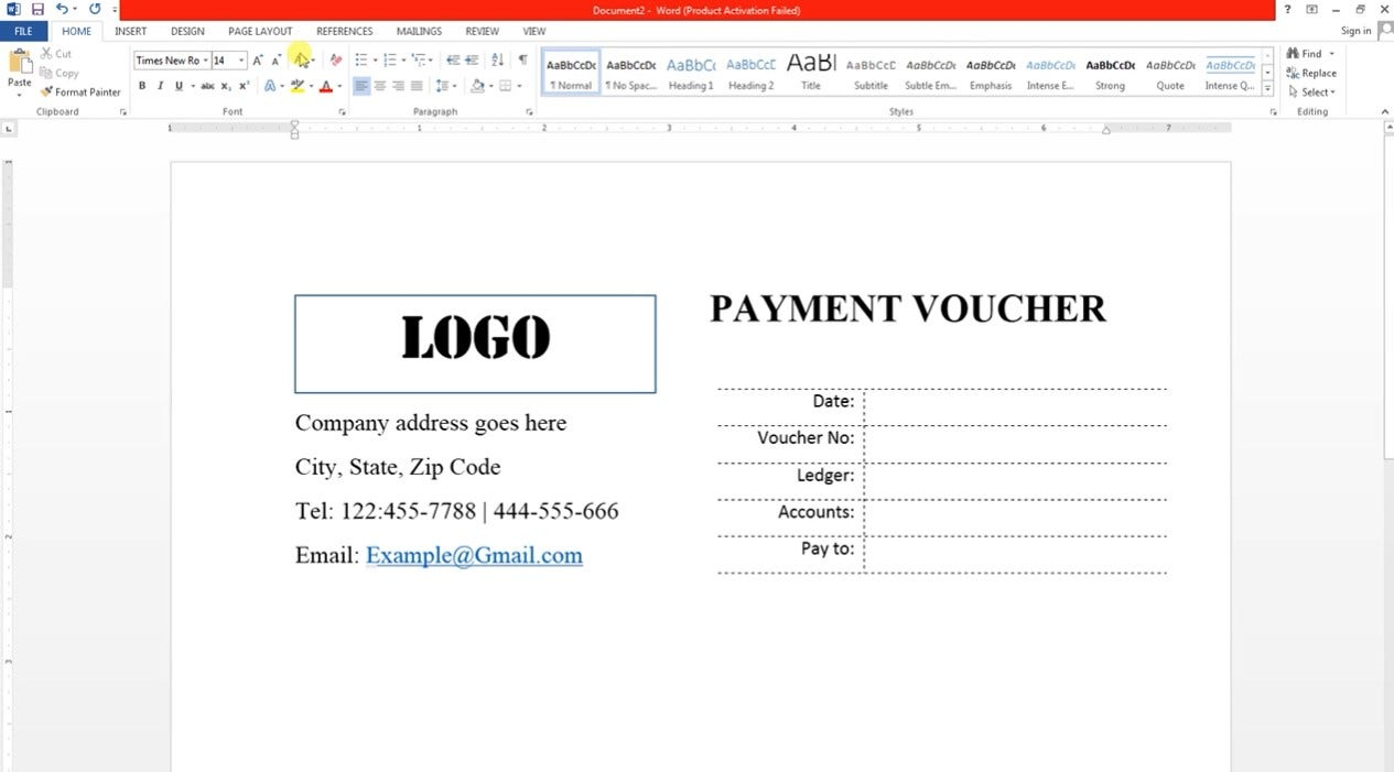 microsoft word coupon template free